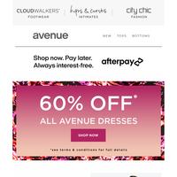 NEW Fuchsia Florals: 60% Off* Avenue Shirts & Dresses