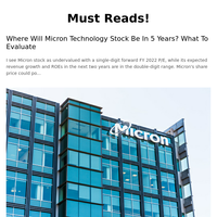 Where Will Micron Technology Stock Be In 5 Years? What To Evaluate