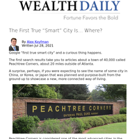 """The First True """"Smart"""" City Is... Where?"""