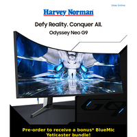 Pre-order the new Samsung Odyssey Neo G9 Gaming Monitor