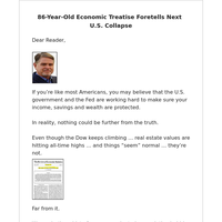 [Sponsored Offer] The Most Accurate Economic Forecasting Tool