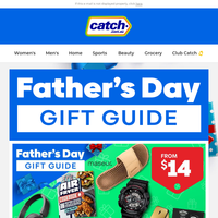 👨 Father's Day Gift Guide: From $14!
