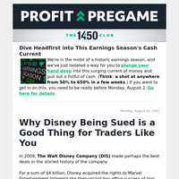 Why Disney Being Sued is a Good Thing for Traders Like You