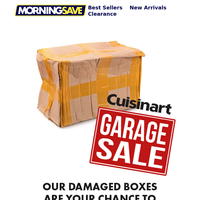 Cuisinart Garage Sale!
