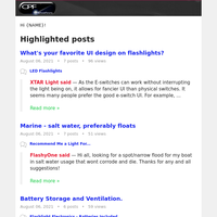 What's your favorite UI design on flashlights?