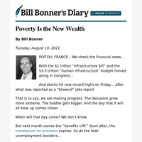 Poverty is the new wealth