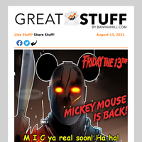 Friday The 13th: Mickey Returns!