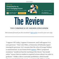 The Review: Sanctimony, Politics, Republican Theater