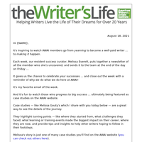 Turning lifelong love for writing into a full-time income
