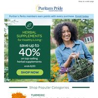 Top Sellers in Herbs now 40% off