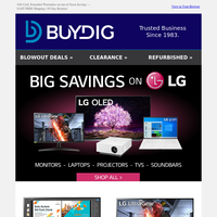 😍LG's Epic Savings on Monitors, Home Theater, TVs & More + Fast FREE Shipping 🚚
