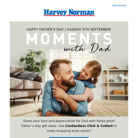 Treat Dad to something special this Father's Day