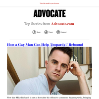 Top Stories from Advocate.com for 08/21/2021