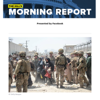 The Hill's Morning Report - Presented by Facebook - 1/ Afghanistan evacuations could keep US forces there past Aug. 31, Biden says. 2/ Eyes on Pelosi vs. centrists as House lawmakers return to DC. 3/ FDA set to fully approve Pfizer virus vaccine; US