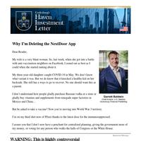 Why I'm Deleting the NextDoor App