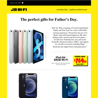 Father's Day Gift Ideas from Apple