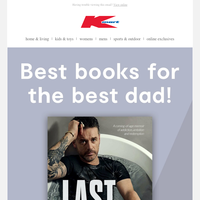 Just in time for Father's Day!