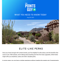 ✈ Can't Qualify for Elite Status? Get Similar Perks From These Cards Instead & More News From TPG ✈
