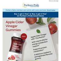New! Apple Cider Vinegar Gummies