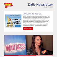 VIDEO: Sara Bareilles Gets Ready to Bring WAITRESS Back to Broadway!