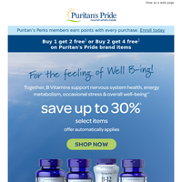 Now on sale >> The best of B Vitamins