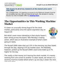 Must Read: The Opportunities in This Washing Machine Market