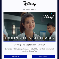 All Things Disney This Month!