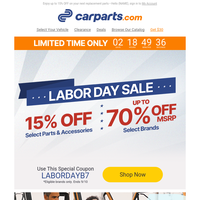Find Deals on Best Sellers + Your 15% OFF #LaborDaySale Coupon Inside 🌟
