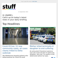 Covid-19 live: 11 new community cases, all cases clearly linked to Delta outbreak