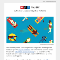 Summer Reading With NPR Music
