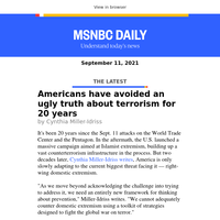 Americans have avoided an ugly truth about terrorism for 20 years