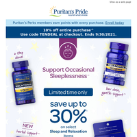 How'd you sleep? Here's up to 30% off