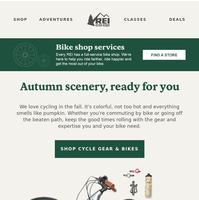 Fall in Love with Cool-Weather Biking