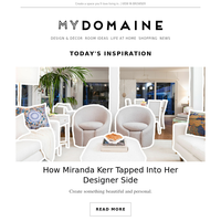 Miranda Kerr shares how to tap into your designer side