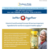 Must-have combo for healthy aging