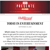 'Ted Lasso' Stars, Writers Score Big Paydays for Season 3; Jeff Bridges' Cancer In Remission; Met Gala Best and Most Outrageous Looks