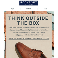 Total Motion DresSport proves a lightweight shoe can feel substantial.