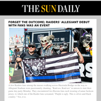 Forget the outcome; Raiders' Allegiant debut with fans was an event