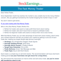 Your Fast Trades (Simple Stocks)