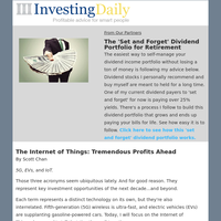 The 'Set and Forget' Dividend Portfolio for Retirement