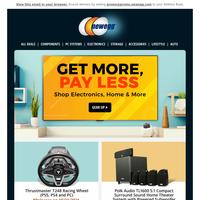 "Don't Miss This! LG 65"" G1 OLED + $250 Bonus eCard,  $149 Polk Audio 5.1 Home Theater & More"