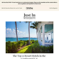 The Best 15 Resort Hotels in the Continental U.S.