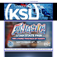 Win tickets to the Utah State Fair!