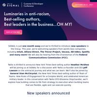 🎤 SIGNAL Speaker Announcement