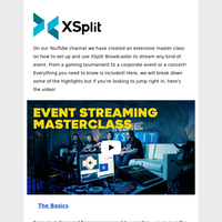 The ULTIMATE XSplit Broadcaster Master Class