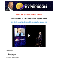 """Now Live: """"Catch Up Coin"""" Hyper Boom Official Replay"""