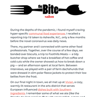The Bite (Issue 1): Food + Community