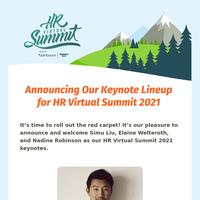 Take a Look at HR Virtual Summit's 2021 Keynote Lineup