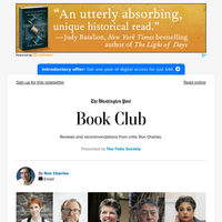 Book Club: Clear your schedule -- the National Book Festival starts NOW
