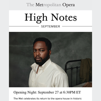 High Notes: Countdown to Opening Night